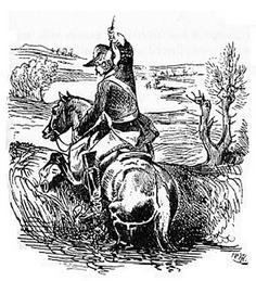 Baron von Münchhausen zieht sich am eigenen Zopf aus dem Sumpf